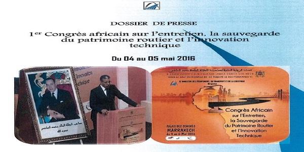 publication d 39 un dossier de presse concernant le 1er congr s africain sur l 39 entretien. Black Bedroom Furniture Sets. Home Design Ideas